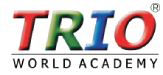Trio world Academy Logo