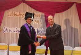 Graduation at Trioworld School2