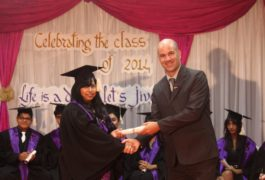 Graduation at Trioworld School4